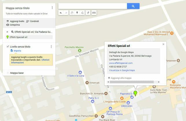 Mappa Personalizzata 3