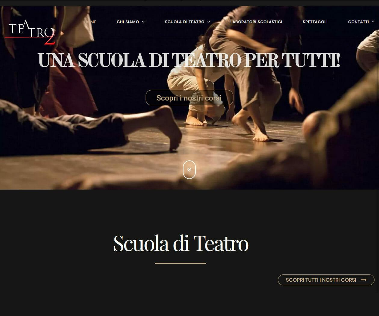 Sito Web Scuola Di Teatro Milano