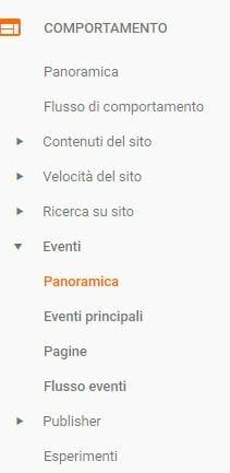 Tracciare Eventi Contactform7 Google Tag Manager 8